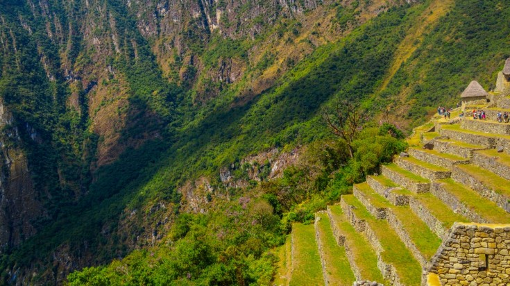 Looking at the agricultural terraces is a top thing to do in Machu Picchu