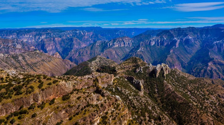Copper Canyon trek is one of the best treks to do in Mexico
