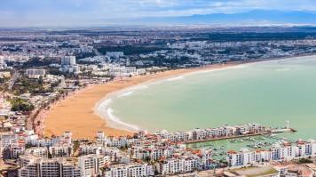 Agadir is a coastal town worth visiting in Morocco