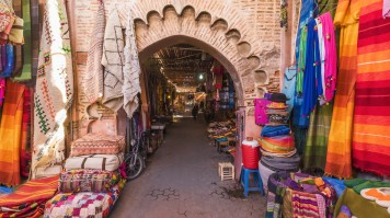 Markets in Marrakesh are a must visit when in Morocco