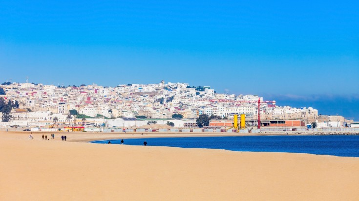 Tangier is the gateway to North Africa