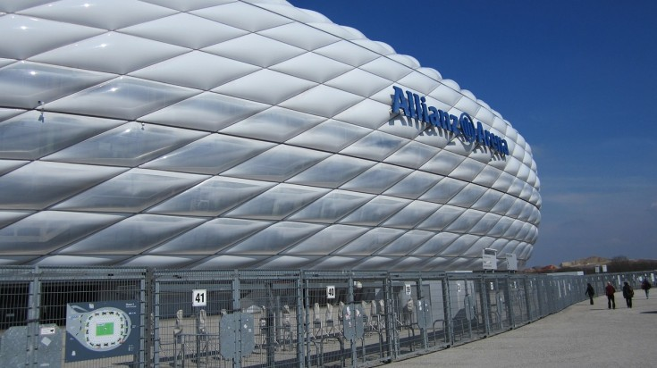 Visiting the Allianz Arena is one of the best things to do in Munich
