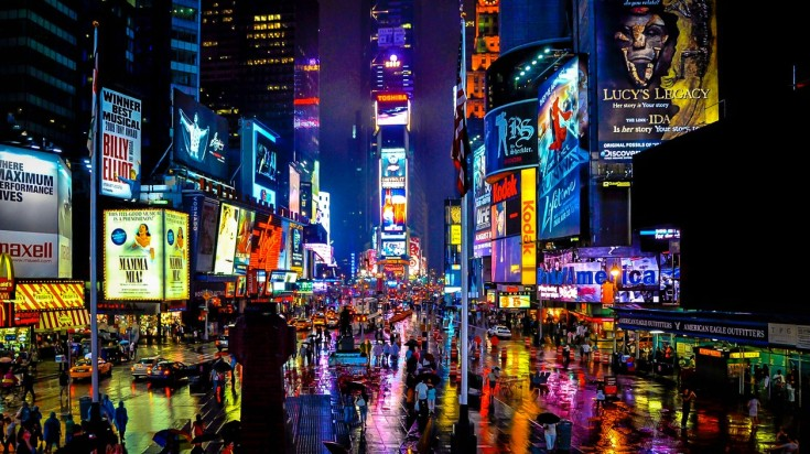 Things to do in New York, visit Times Square