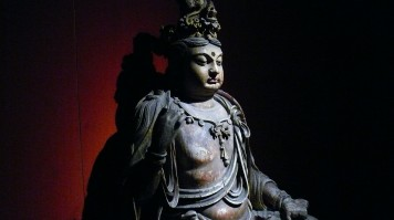 This Shanghai attraction has ancient artifacts like this wood Bodhisattva