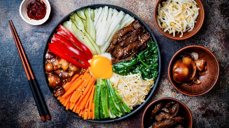 Eating bibimbap is a must thing to do in South Korea