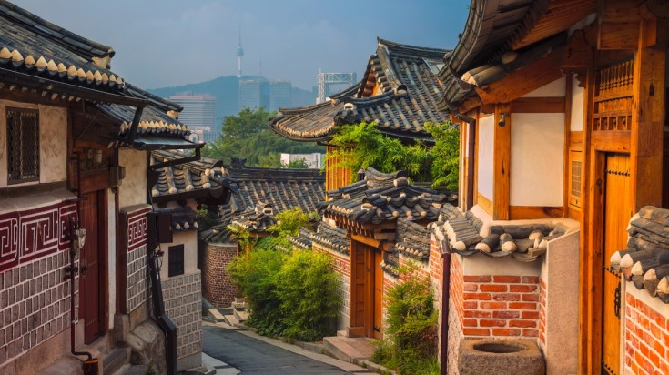 Visiting Bukchon Hanok Village is a top thing to do in South Korea
