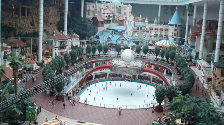 Visiting Lotte World Adventure is a must thing to do in South Korea