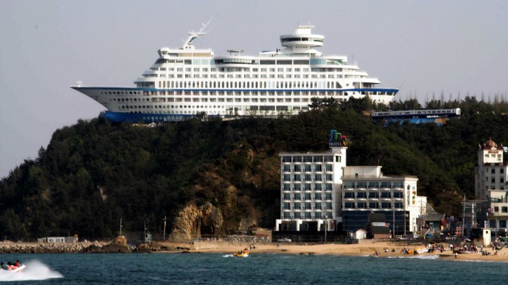 Staying at the Sun Cruise Resort is a must thing to do in South Korea