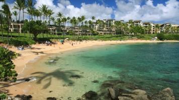 Kapalua Bay Beach in Hawaii, USA