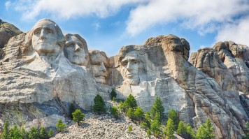 Mount Rushmore is one the most iconic sights in the USA