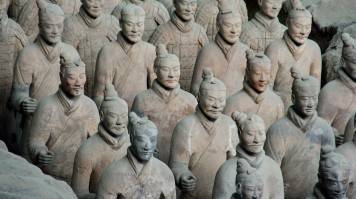 The face of each Terracotta army differs from one another