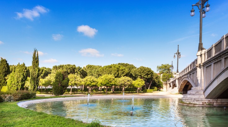 Turia garden is a must visit in Valencia