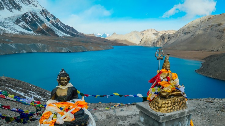 Located in Manang, Tilicho lake is the World's highest altitude lake.