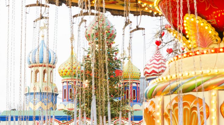 Tivoli, a snow-white winter wonderland Christmas market