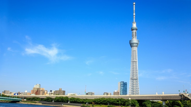 Tokyo skytree is the tallest observation building and a must visit during Tokyo Olympics 2020.