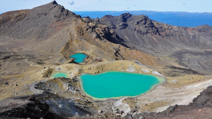 Tongariro National Park is the oldest national park in New Zealand.