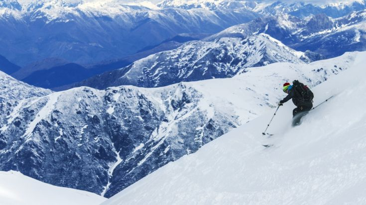 Skiing is one of the best things to do in Chile