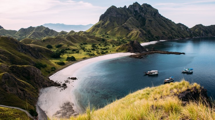 Padar Island is another famous island near Komodo Island
