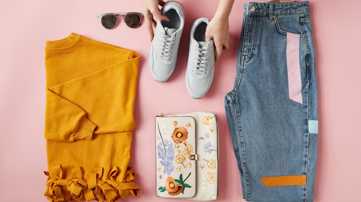 Travel packing outfits