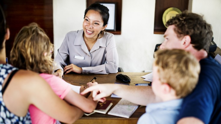Speak to local staff when traveling solo