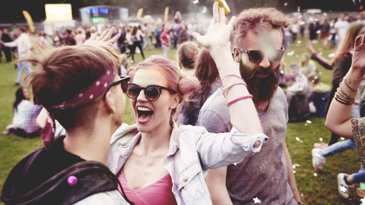 Festivals are a great place to meet new people when traveling solo