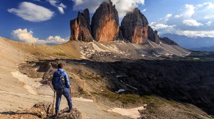 The three impressive peaks you can see on the trail are breathtaking to behold and are actually the symbol of this UNESCO World Heritage Site.