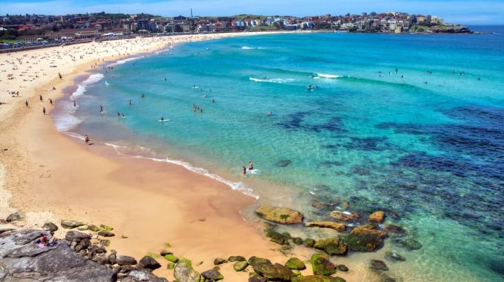 Trip to Australia Bondi Beach