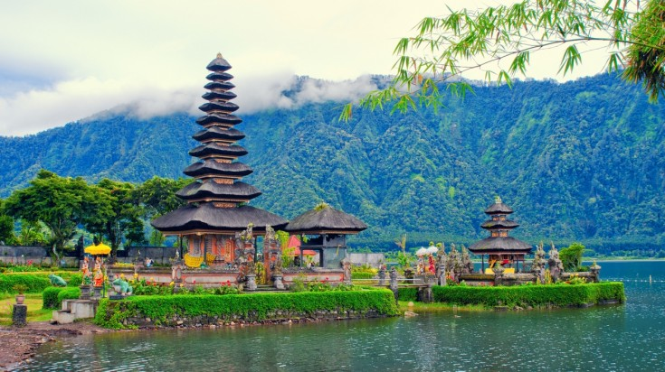 This Indonesian temple is an iconic temple of Bali.