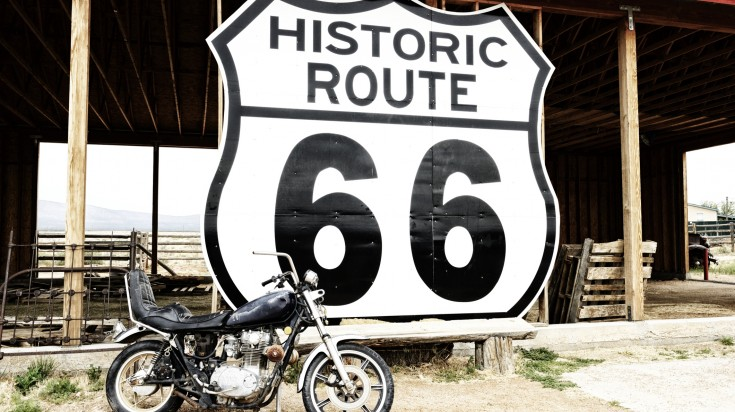 US Route 66 is the ultimate route for most road trips