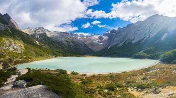 Laguna Esmeralda in Ushuaia