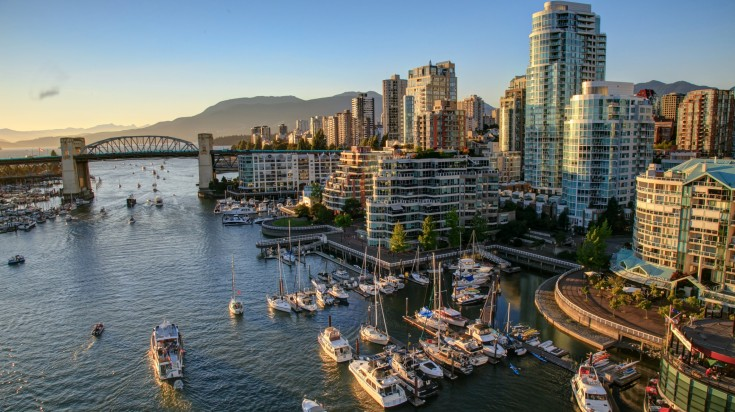 Located in Western Canada, Vancouver is a stunning coastal city.