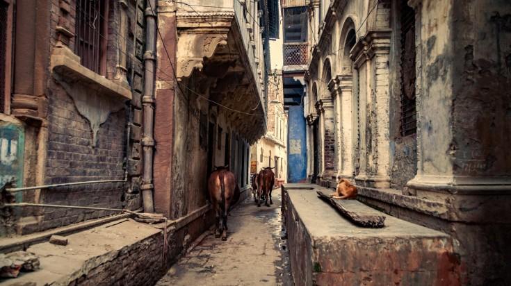 Alleys in Varanasi