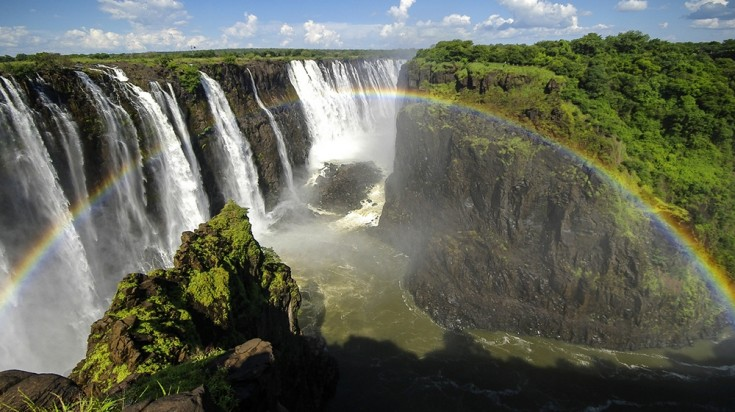 Monumental waterfalls like the Victoria Falls make up a great destination