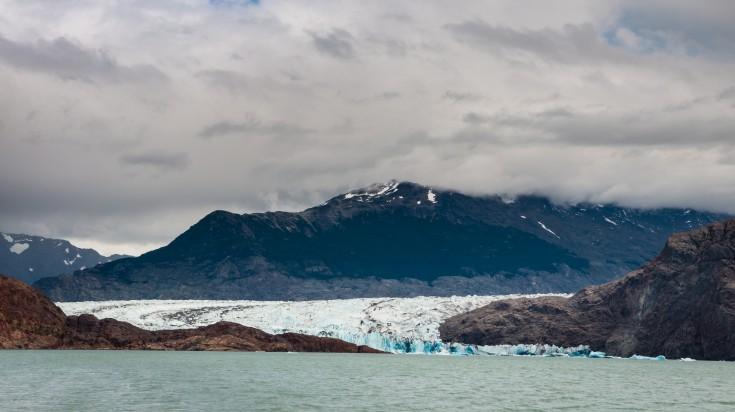 Viedma Glacier in Patagonia