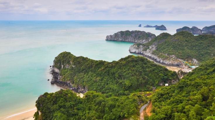 Cat Ba Archipelago in Vietnam