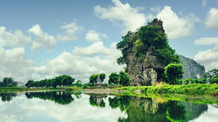 Ninh Binh in Vietnam
