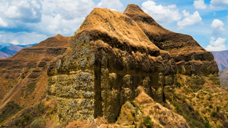 Vilcabamba trekking trail in Peru