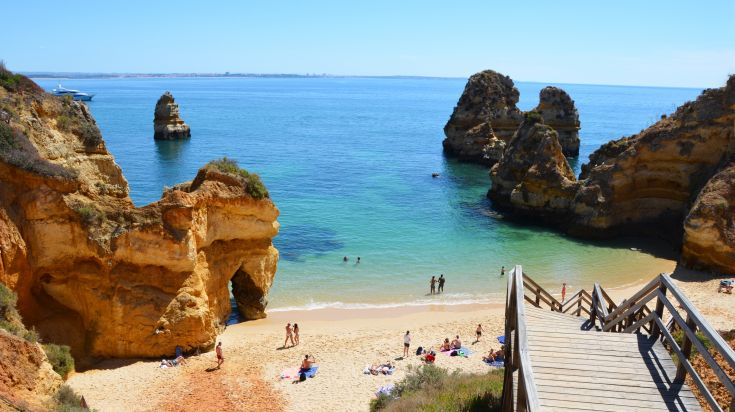 Visiting Algarve in Portugal