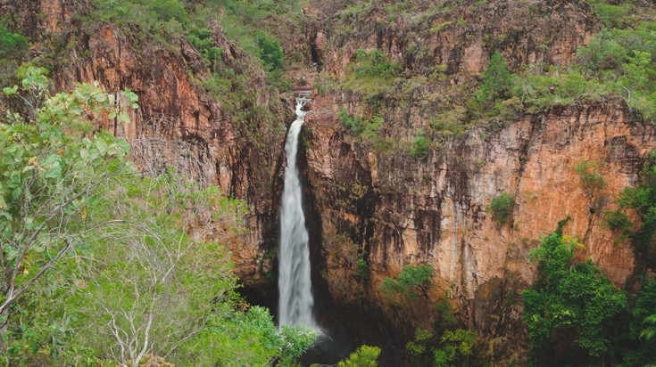 Waterfall in Litchfield National Park