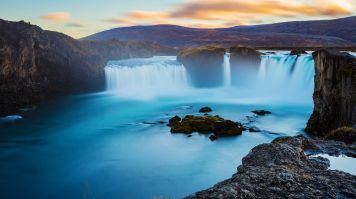 Godafoss Waterfall, one of the best waterfalls in Iceland