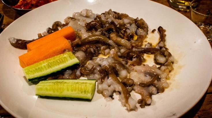 Sannakji Strange food