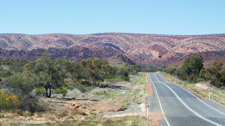 After Alice Springs to Uluru, head to West MacDonnell Ranges.