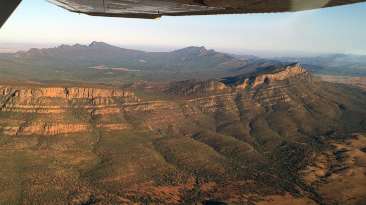 Flinders Ranges is a vast landscape but Wilpena Pound is a must-see.