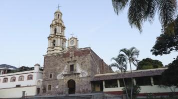 San Andres Church in Ajijic, Mexico