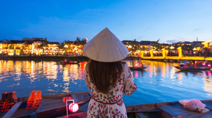 Hoi An Ancient town is located in Vietnam's central Quang Nam Province