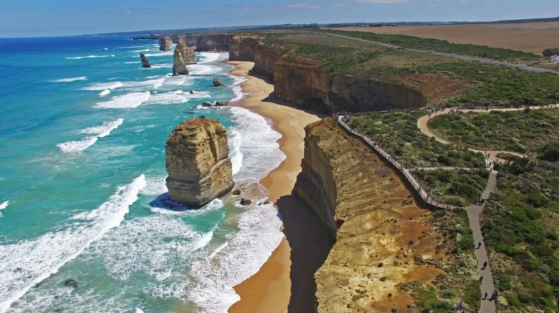 Visiting the 12 Apostles from Melbourne is as Australian as cuddling koalas