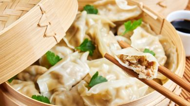 Juicy and yummy Momo made in Nepali style.