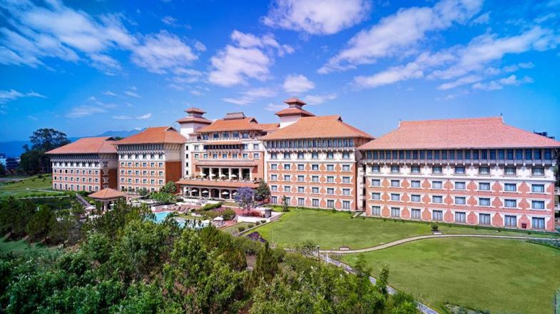 View of the Hotel Hyatt Regency in Kathmandu - Bookmundi