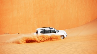 There are lots of adventures in Dubai that promise thrill.