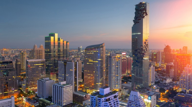 Bangkok, the capital and most populous city of the Kingdom of Thailand